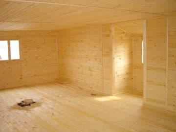 внутренняя отделка в каркасном доме